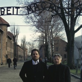 Brett Ratner and Roman Polanski at Auschwitz