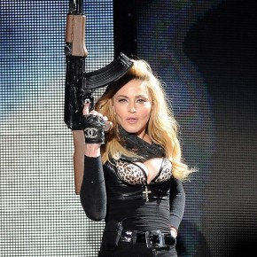 Links for Madonna Brandishing an AK-47 to Kick Off World Peace Tour in Israel