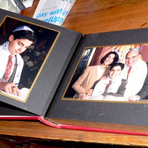Inside the owner&#039;s Bar Mitzvah album