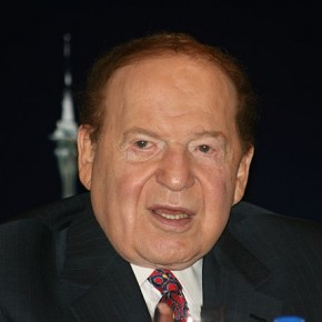 Taking Pictures Of Sheldon Adelson Compromises His Security (Or Something?)