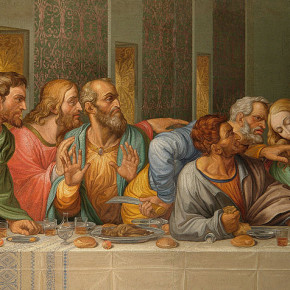 800px-Detail_of_the_Da_Vinci&#039;s_The_Last_Supper_by_Giacomo_Raffaelli,_Vienna