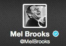 All Hail Mel Brooks, Your New Twitter Overlord